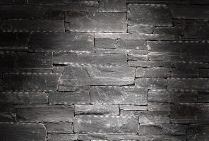 Prikaz zidne obloge - dekorativni kamen Rock Face Flat Black