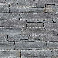 Zidne obloge z dekorativnim kamnom Rock-Face-Flat-Black